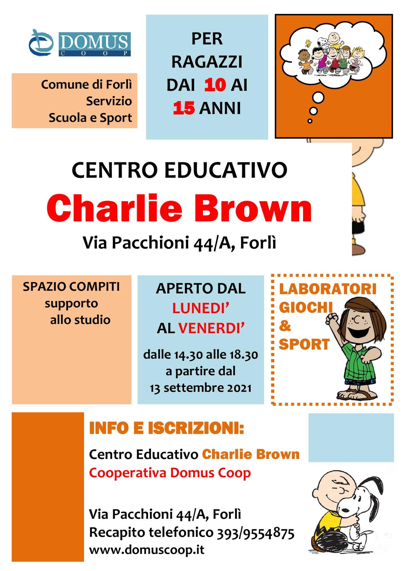 Riprendono le attività del centro educativo Charlie Brown
